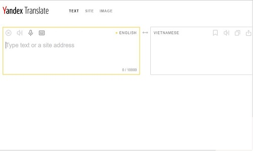 Yandex Translate